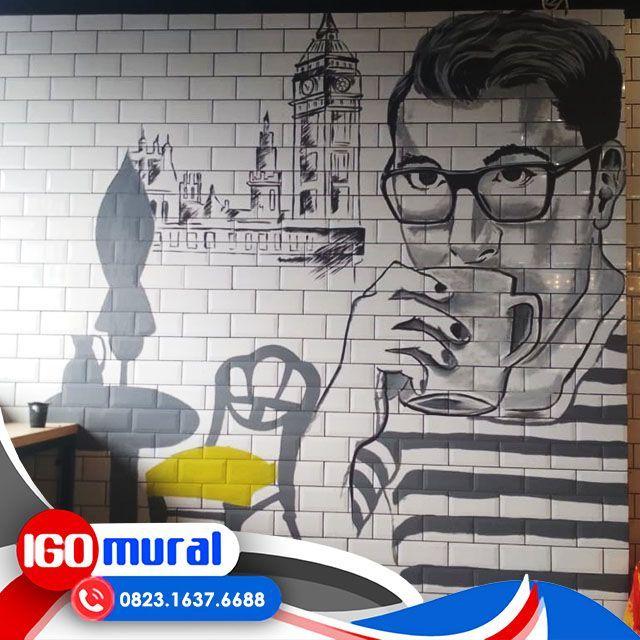 Mural Cafe Untuk Meningkatkan Omset Dan Daya Tarik Pengunjung Gambar Lukisan 3d Di Dinding Paling Keren Wattpad