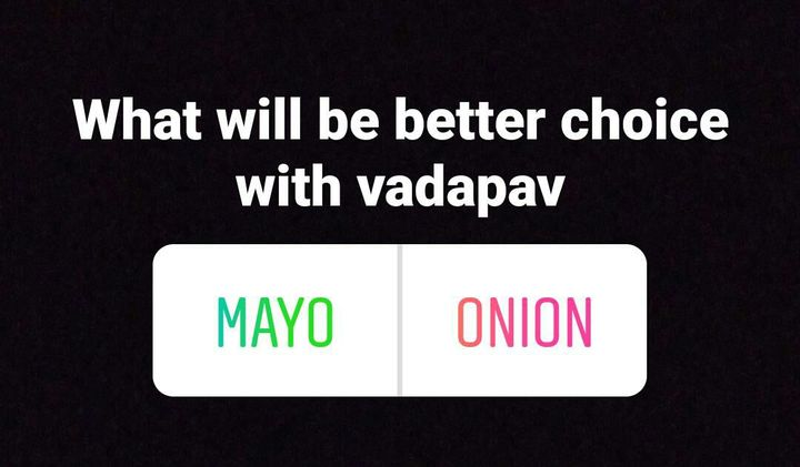 Guesss what fans tere saath nhi hai unhone vadapav ke saath mayonese choose kiya hai😆