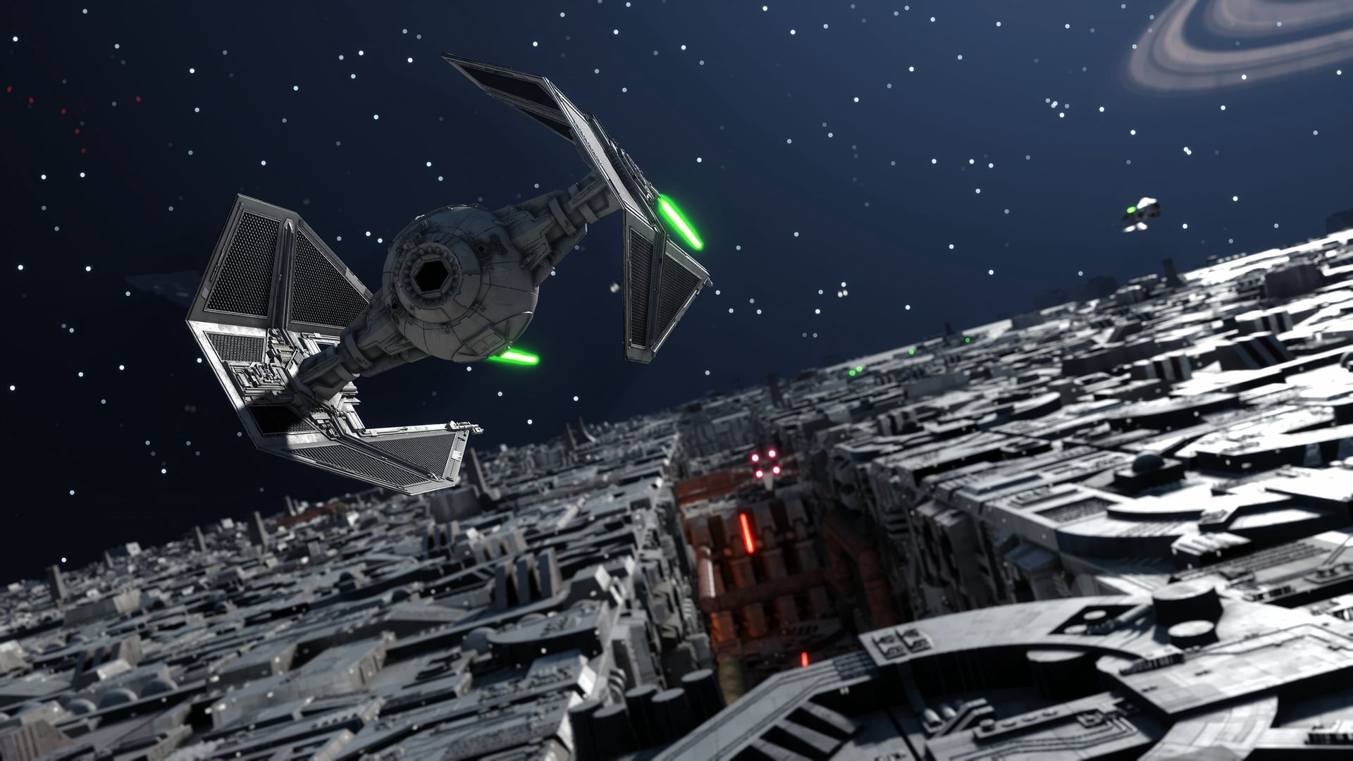 Tell the story of a TIE Fighter pilot, the only Imperial survivor of a battle - which battle, is entirely your decision
