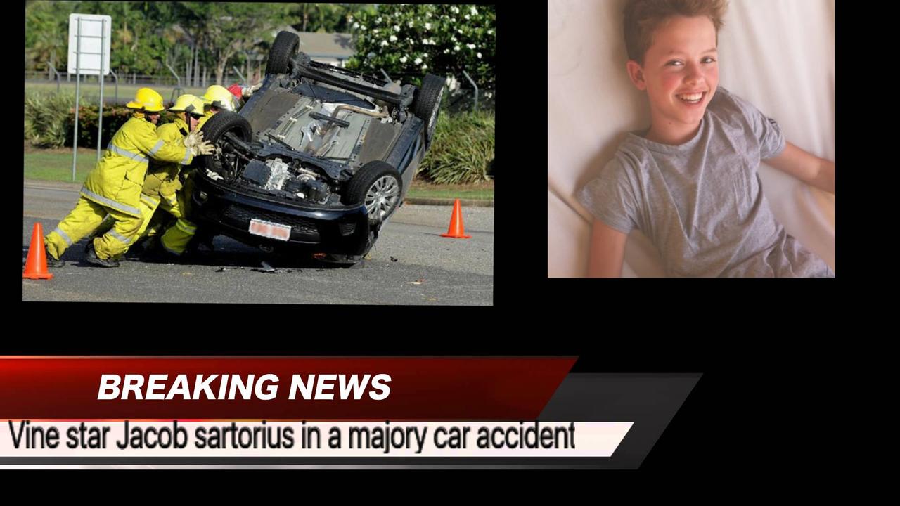 Jacob Sartorius Car Crash