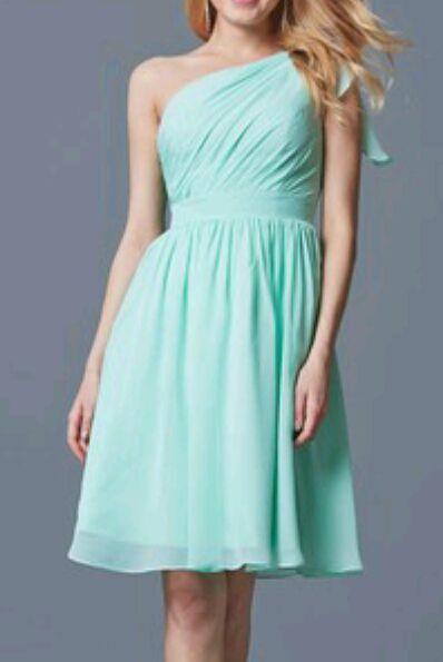 (Bridesmaids/Davina and Andrea) Elena, Bonnie, and Caroline had cute dresses as well