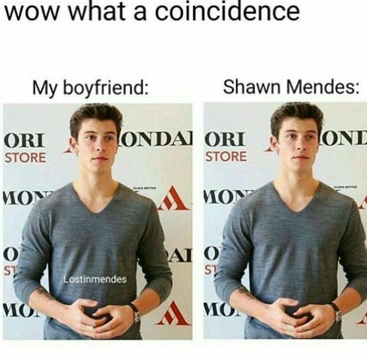 This comparison man, psh, it's like Shawn is my boyfriend