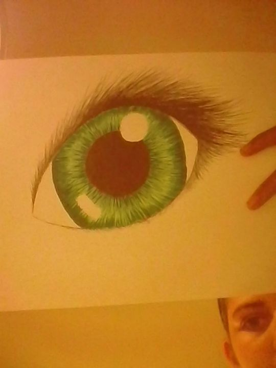 I have a small obsession with eyes
