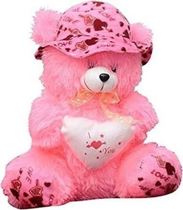 Both avni and neil holds the teddy from either sides