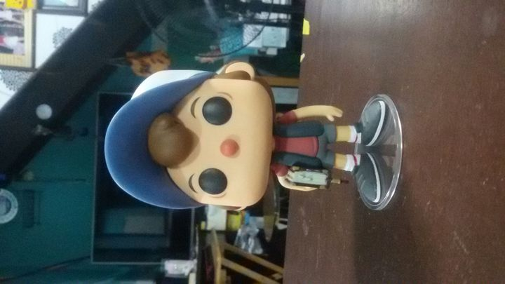 yO CHECK IT OUT!!!!!!!!!! A DIPPER PINES FUNKO POP THAT wonhaemonniemonnie GAVE ME!!!!!!UGH I LOVE HER SO MUCH SHE'S THE BEST