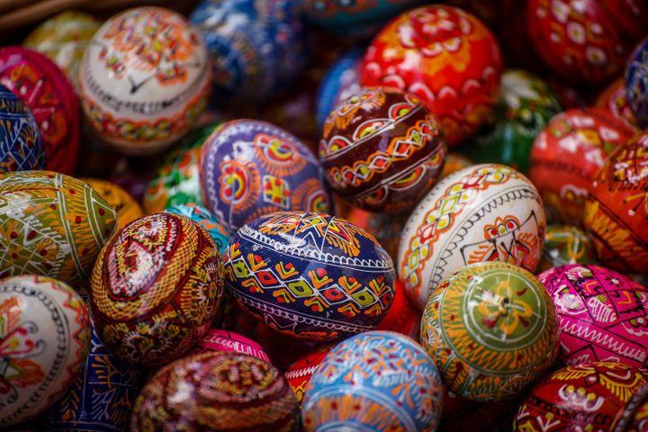 Nigdy więc nie podnoszono jajek znalezionych w polu lub na drodze, aby nie przynieść choroby do domu