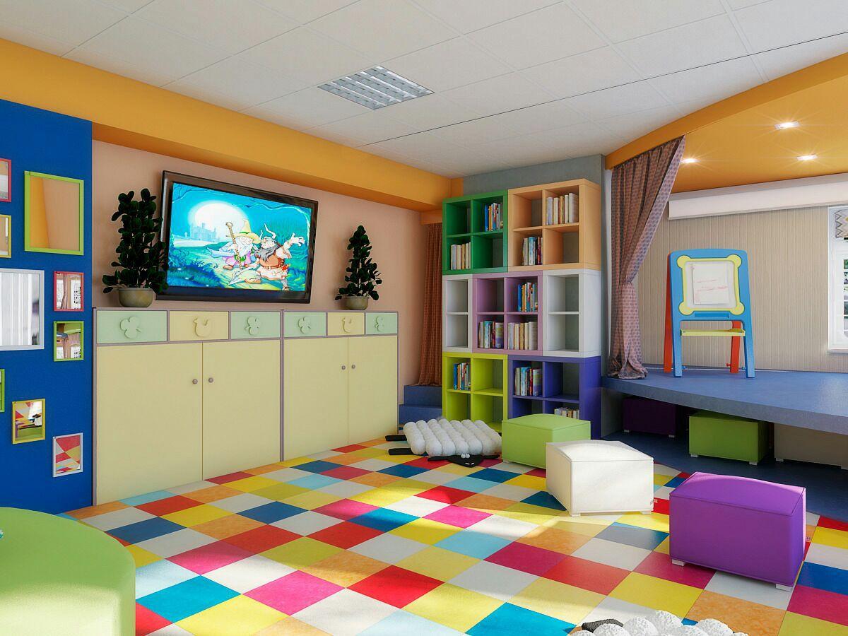 Картинка игровая комната в лагере