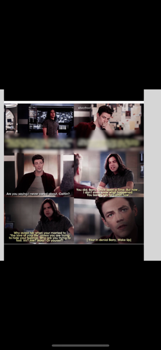 """""""Dude What are you doing?!"""" Cisco asked""""What do you want me to do Cisco?!"""" """" I want you to help her"""