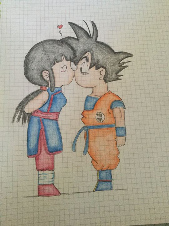 I Miei Disegni Di Dragon Ball Chichi Goku Wattpad