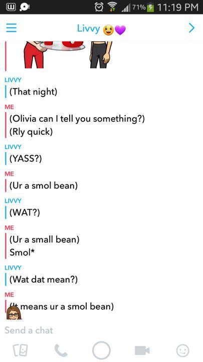 art book telling olivia that she is a smol bean wattpad