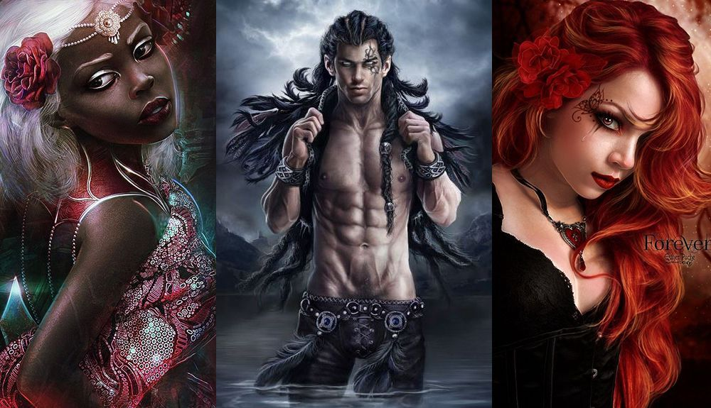Pic above: Isolde, Marku and Liliana