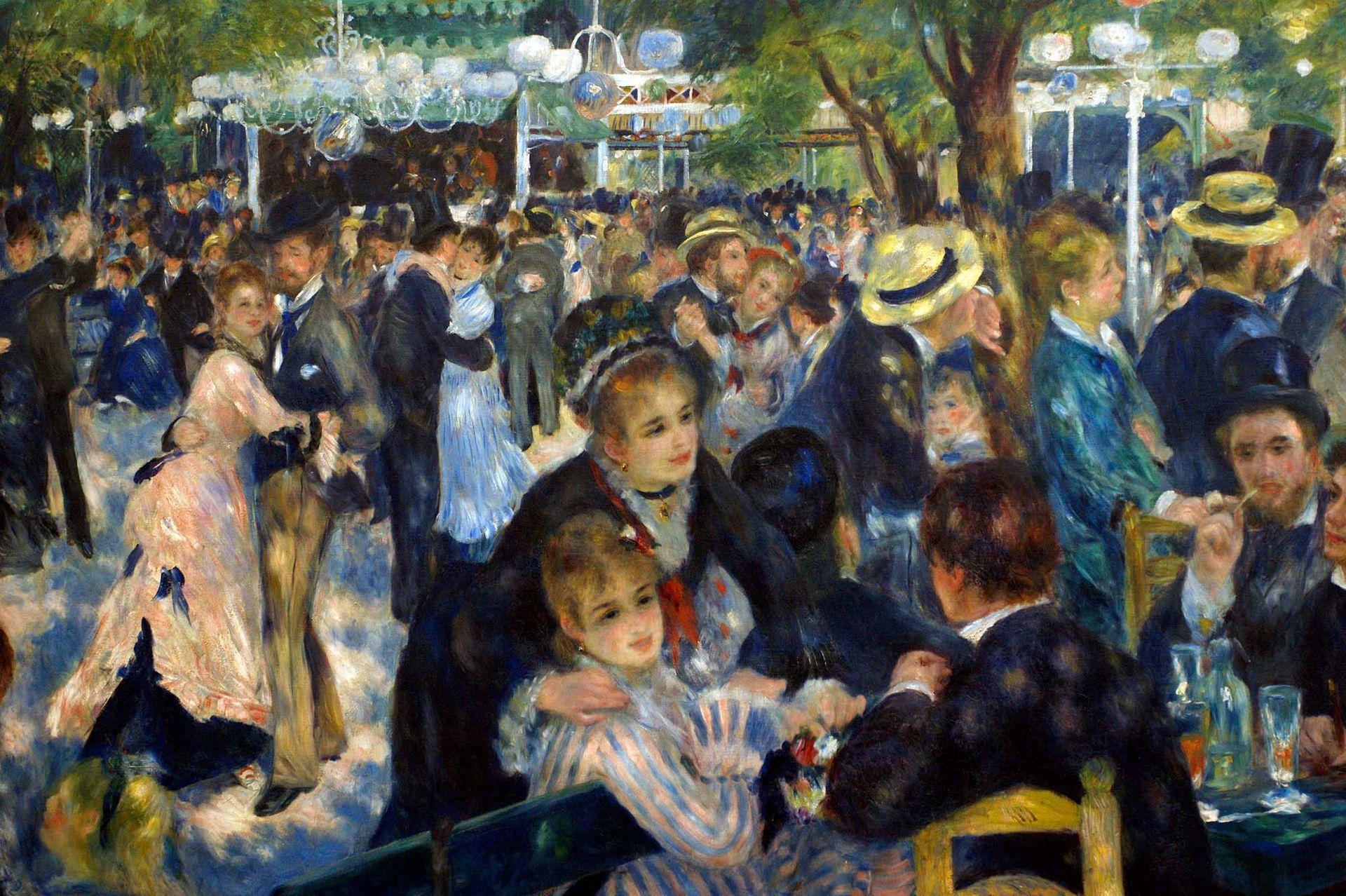 Conto inspirado na pintura Baile no Moulin de La Galette, de Pierre-Auguste Renoir (1876)