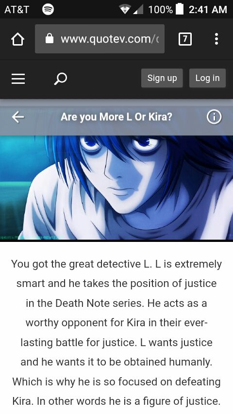 Pop quiz - Death Note : L or Kira? Who Are You? - Wattpad