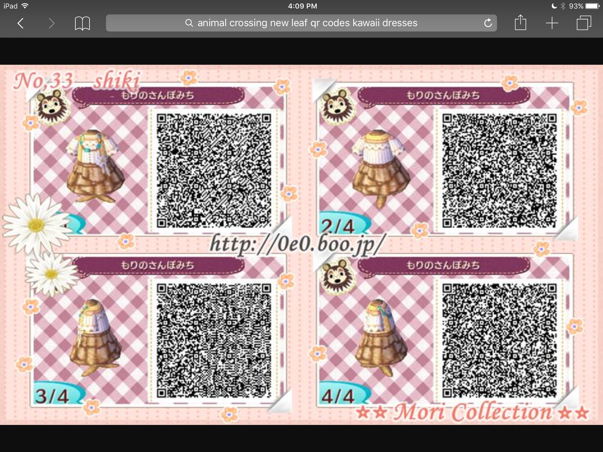 Animal Crossing New Leaf Qr Codes And More More Qr Codes Wattpad