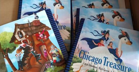 Chicago Treasure has been featured on Windy City Live, ABC 7-TV,Fox 32, WGN TV, WGN Radio, and Comcast Newsmakers, and has received glowingreviews from dozens of newspapers, book blogs, parenting publications, anddisability advocacy websites