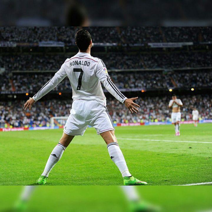 Cristiano Ronaldo Jubel