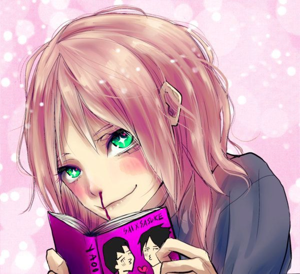 """""""What the who the hell are you!?"""" Sera steps back from the random girl, """"don't worry kouhai, you will soon enter the same world and open the door"""" her eyes sparkle """"you will open that door and embrace it, love it and fangirl it"""" her nose started t..."""