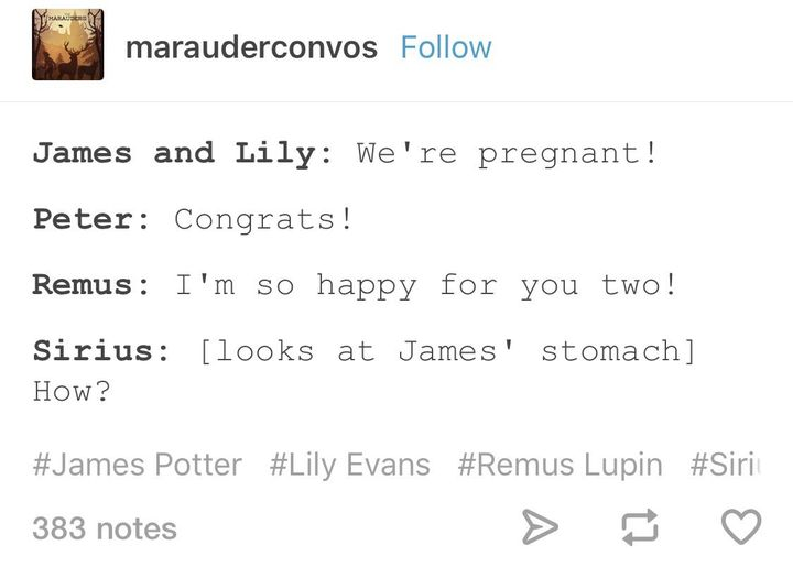 james and lily pregnant fanfic