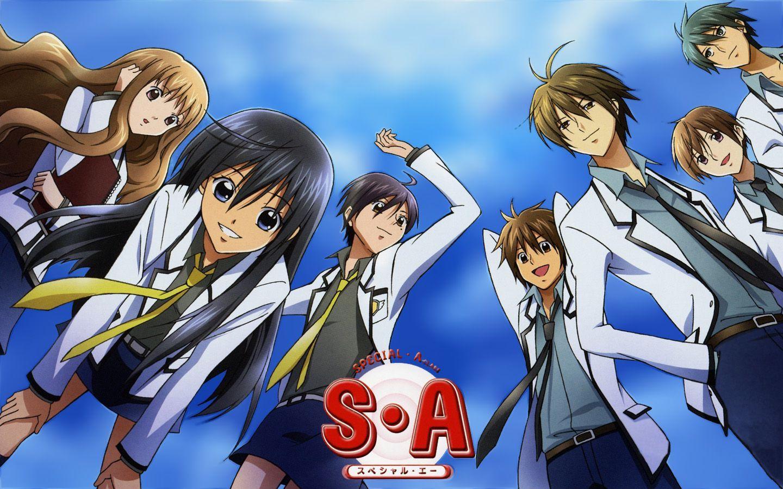 Kết quả hình ảnh cho Special A anime