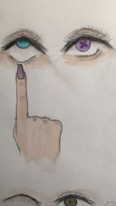 Art Book Whats That Eyes Wattpad