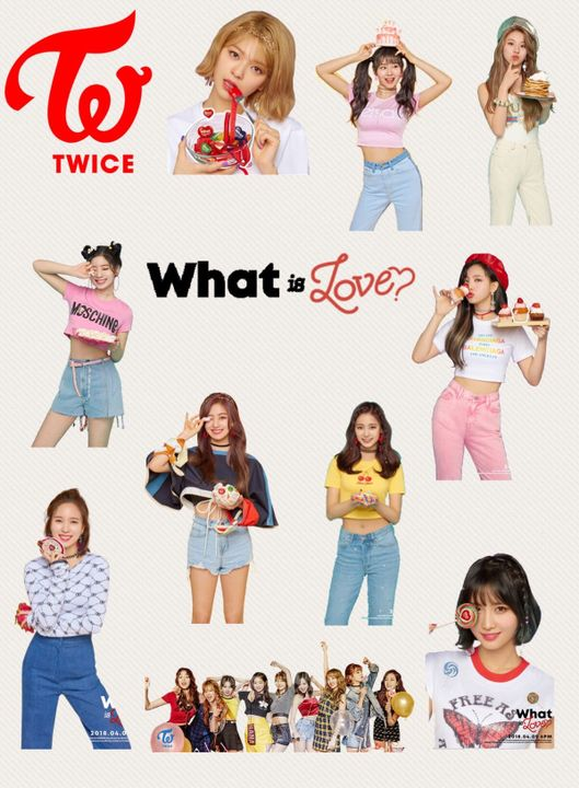Kpop Printables - Twice Stickers - Wattpad
