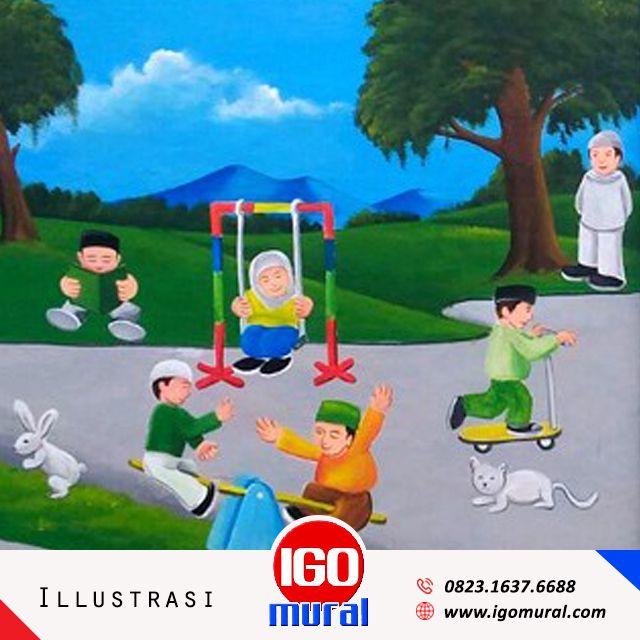 Jasa Lukis Dinding Sekolah Tk Jogja Call 0852 1722 3280 Spesial