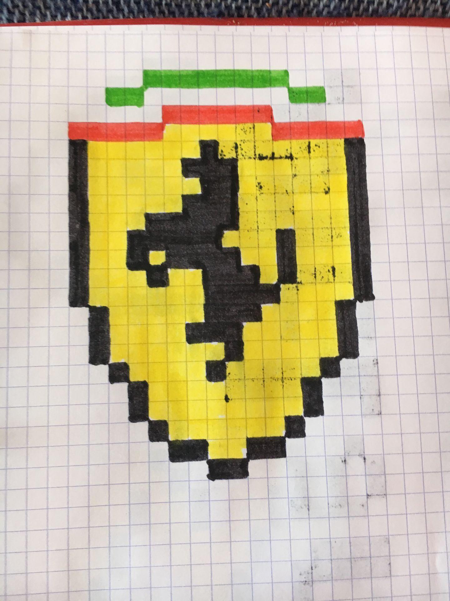 Dessin Pixel Art De Chien Elite