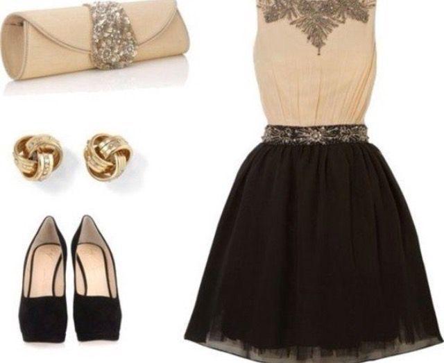 Красивые луки с платьем