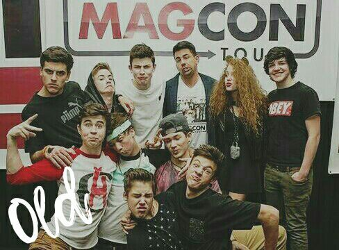 Old/New Magcon as Old/NewMagcon (?
