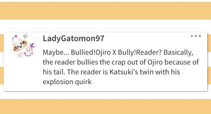 Bully Bakugou X Reader Wattpad