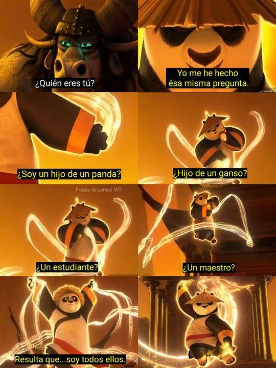 Frases De Series Kung Fu Panda Wattpad