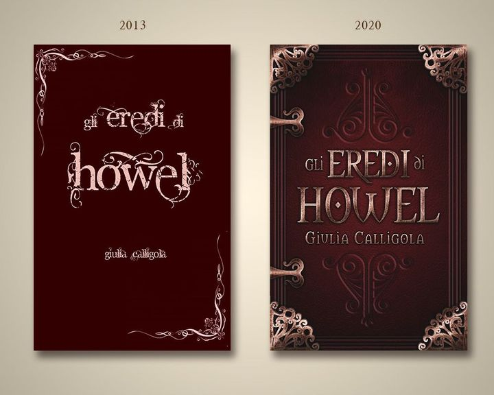 La seconda ha una storia simile: era il mio secondo libro, aveva bisogno di una cover