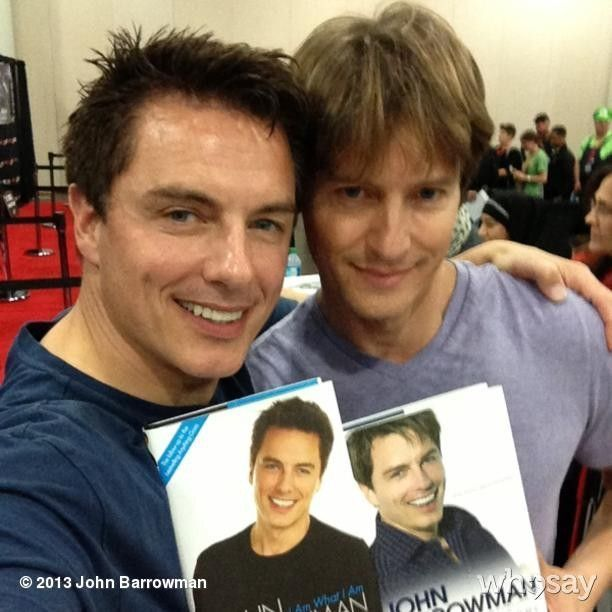 """It's """"I really want to punch you in the face and completely cut you out of my life but we're forced to stay in the same desk five days a week so we might as well get along"""" Also she's homophobic I showed her this picture of John Barrowman and she..."""