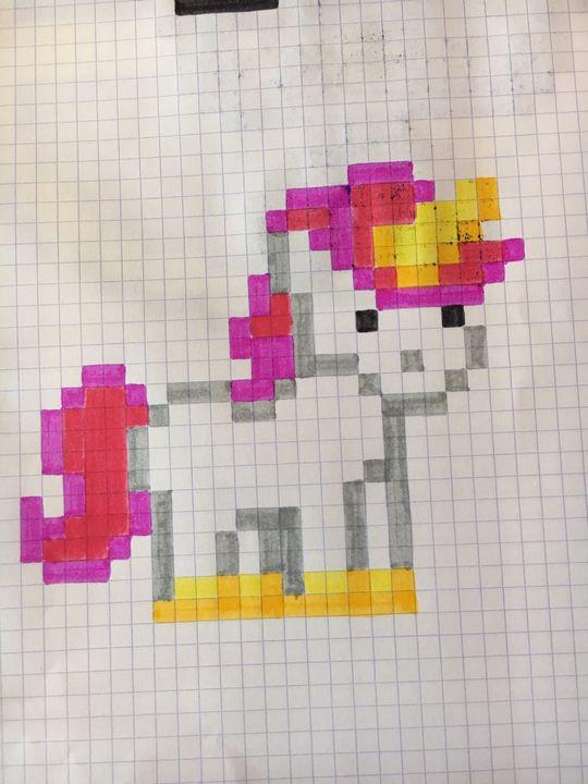 Pixel Art Licorne Wattpad