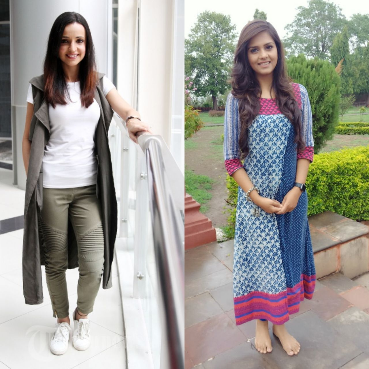 Khushi and Anjali got ready with Anjali in a kurta-leggings while Khushi in her usual attire
