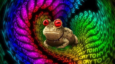 There's always a toad running the show