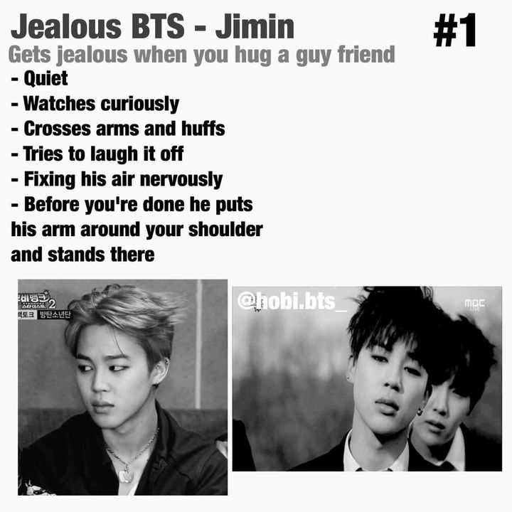 BTS boyfriend scenarios and imagines - HE GETS JEALOUS *MAKNEA LINE