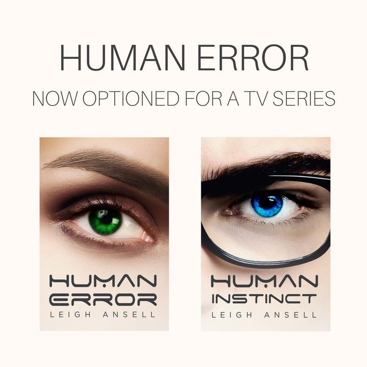 HUMAN ERROR HAS BEEN OPTIONED FOR A TV SERIES!!!!!