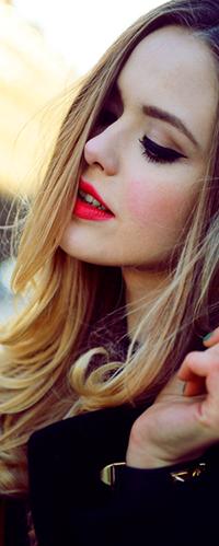 Красивые на аву для девушек русых волос