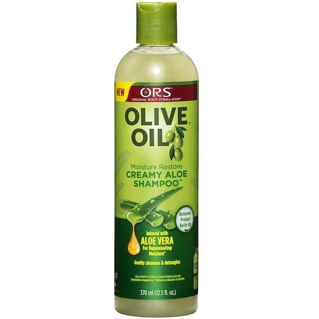 🌼 After my hair is detangled, I wash it with ORS shampoo