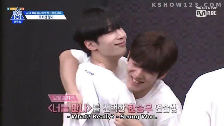 Seungwoo: You're welcome :) lab keta