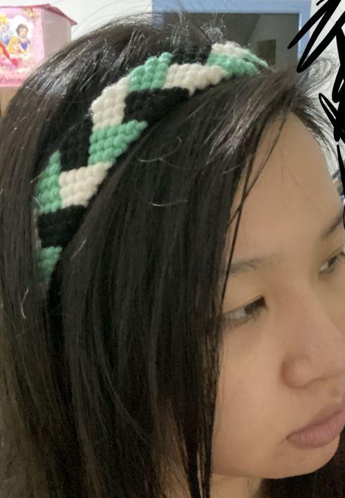 A headband I made by my own hand